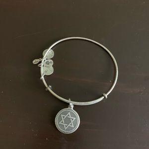 Star of David Alex and Ani bracelet